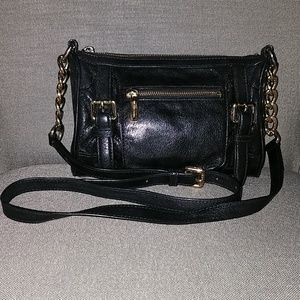 Michael Kors crossbody, black leather